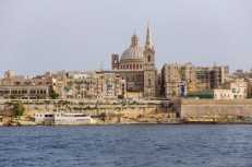 View from Valetta waterfront