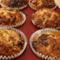 Banana & Chocolate Muffins