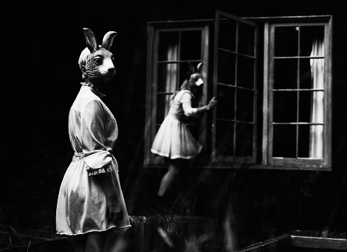 Anthromorphic Leporids-via Becky Wells on Pinterest-rabbits-bunnies-folklore-A Year In The Country 3