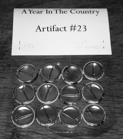 Artifact 23-Back of pack-A Year In The Country