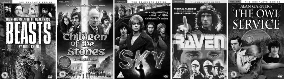 Beasts-Nigel Kneale-Children Of The Stones-Sky-Raven-The Owl Service-Alan Garner-A Year In The Country