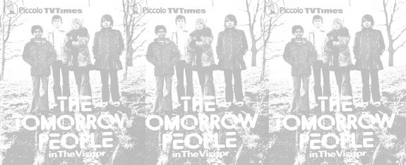 The Tomorrow People in The Visitor-paperback book-novel-1973-Piccolo TV Times-Roger Price and Julian Gregory-6
