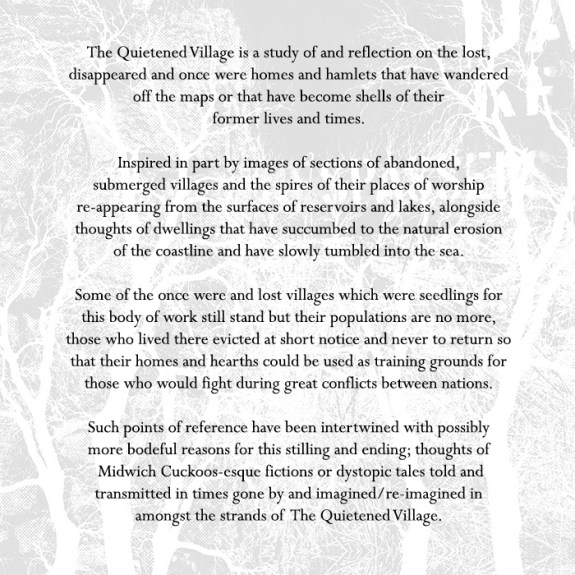 The Quietened Village-prerelease note-A Year In The Country