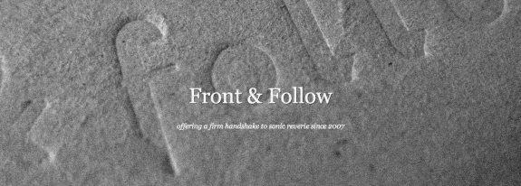 Front And Follow-record label-website logo