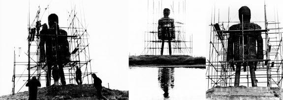 The Wicker Man-under construction