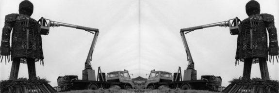 The Wicker Man-cherry picker-under construction-2