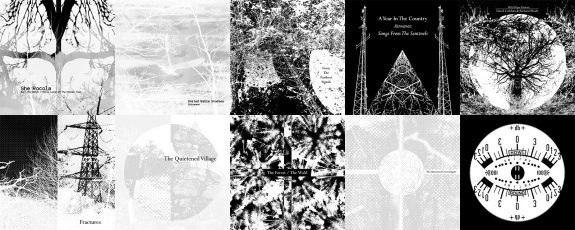 10 albums-A Year In The Country-album covers artwork-Burn The Witch-Fractures-The Quietened Village