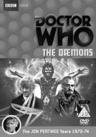 Doctor Who-The Daemons-DVD cover-BBC-John Pertwee