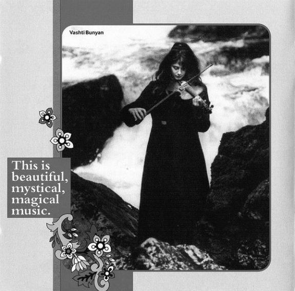 Gather In The Mushrooms album-folk-Bob Stanley-Vashti Bunyan sleevenotes image