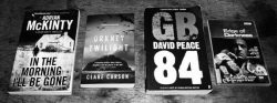 Adrian McKinty-In The Morning-Orkney Twilight-Clare Carson-GB84-David Peace-Edge of Darkness