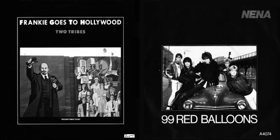 Frankie Goes To Hollywood-Two Tribes-Nena-99 Red Ballons
