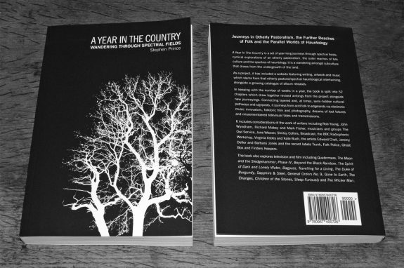 A Year In The Country-Wandering Through Spectral Fields book-front and back cover