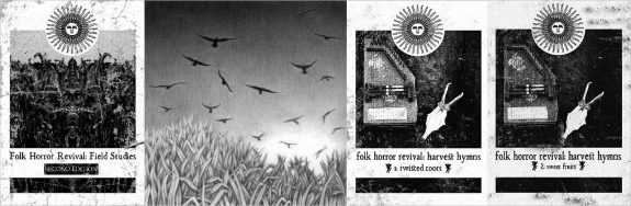 Folk Horror Revival-Field Studies-Harvest Hymns-book covers