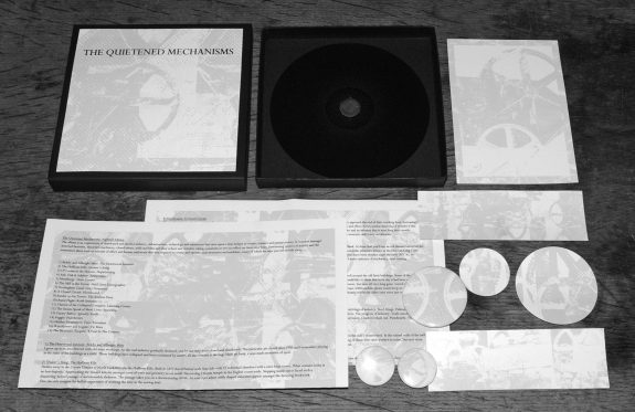 The Quietened Mechanisms-Nightfall edition-components-A Year In The Country CD album