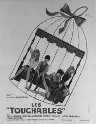 The Touchables-film-1968-French poster