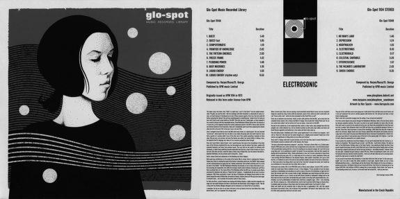 Glo Spot Music Recorded Library-Electrosonic-Delia Derbyshire-album artwork-sleeve