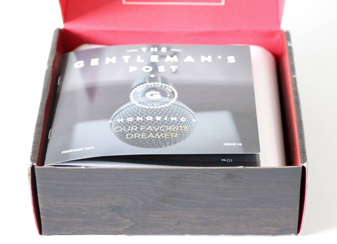 Gentleman's Box February 2016 2