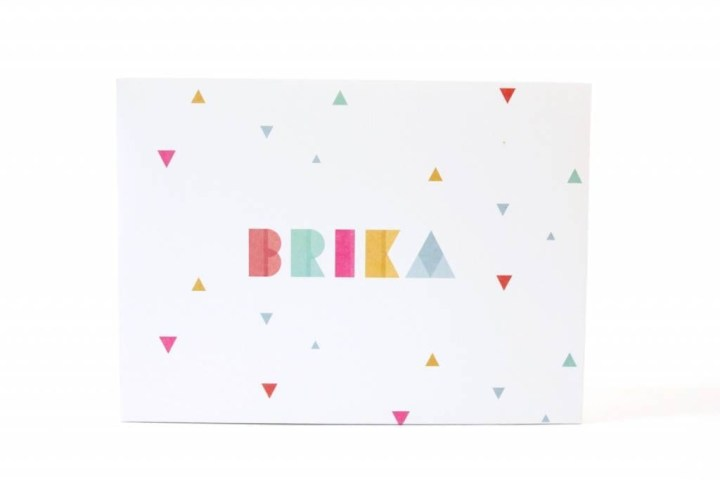 Brika Subscription Gift Box Review July 2016 1