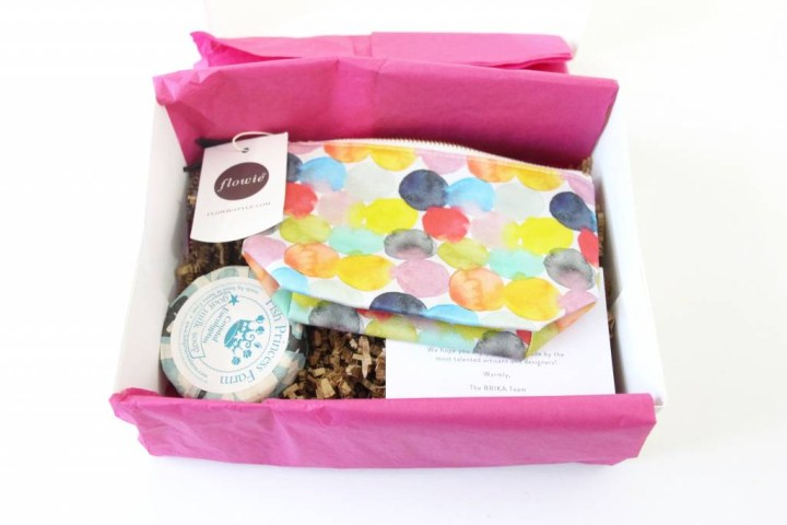 Brika Subscription Gift Box Review July 2016 3
