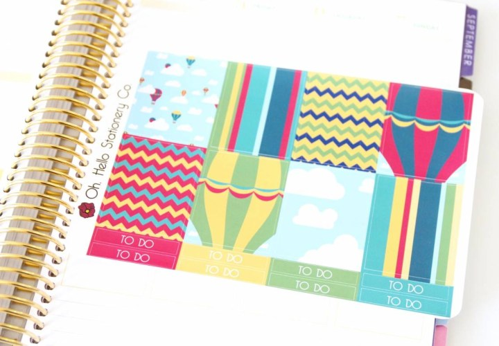 Oh Hello Stationery Co. Review August 2016 4