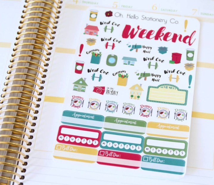 Oh Hello Stationery Co. Review August 2016 7