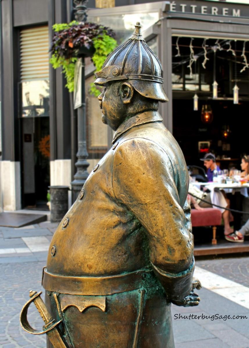 Budapest Street Sculptures