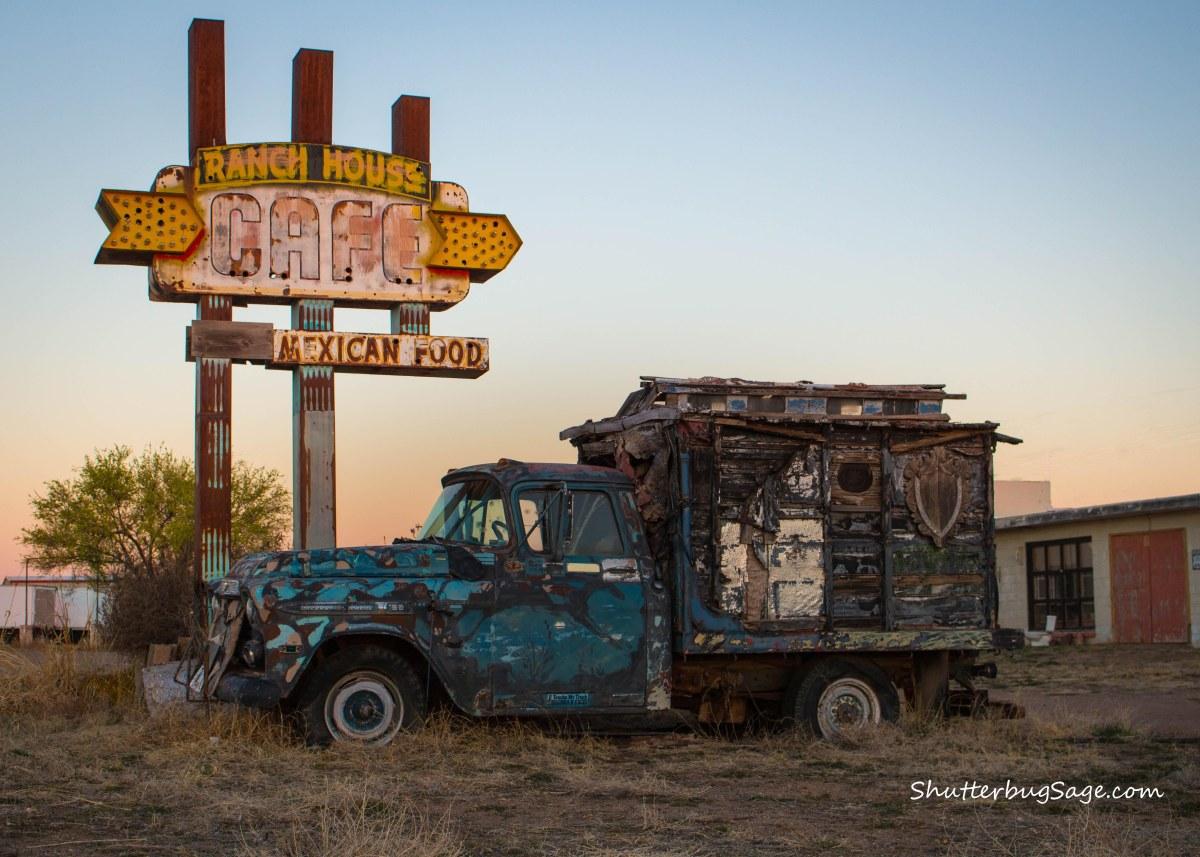 Ranch House Cafe Route 66 In Tucumcari Mexico