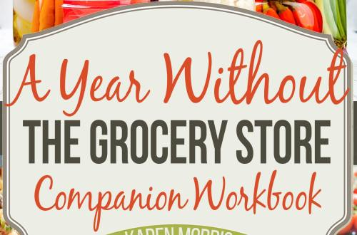 A Year Without the Grocery Store Companion Workbook