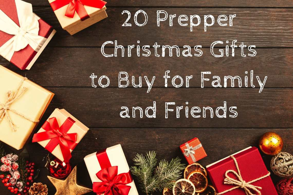 20 Prepper Christmas Gifts to Buy for Family and Friends