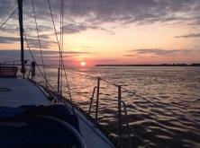 Levée de soleil sur Trois-Rivières