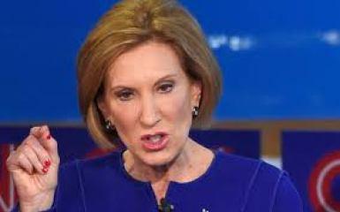 Fake Fiorinous Fury at the Republican Debate