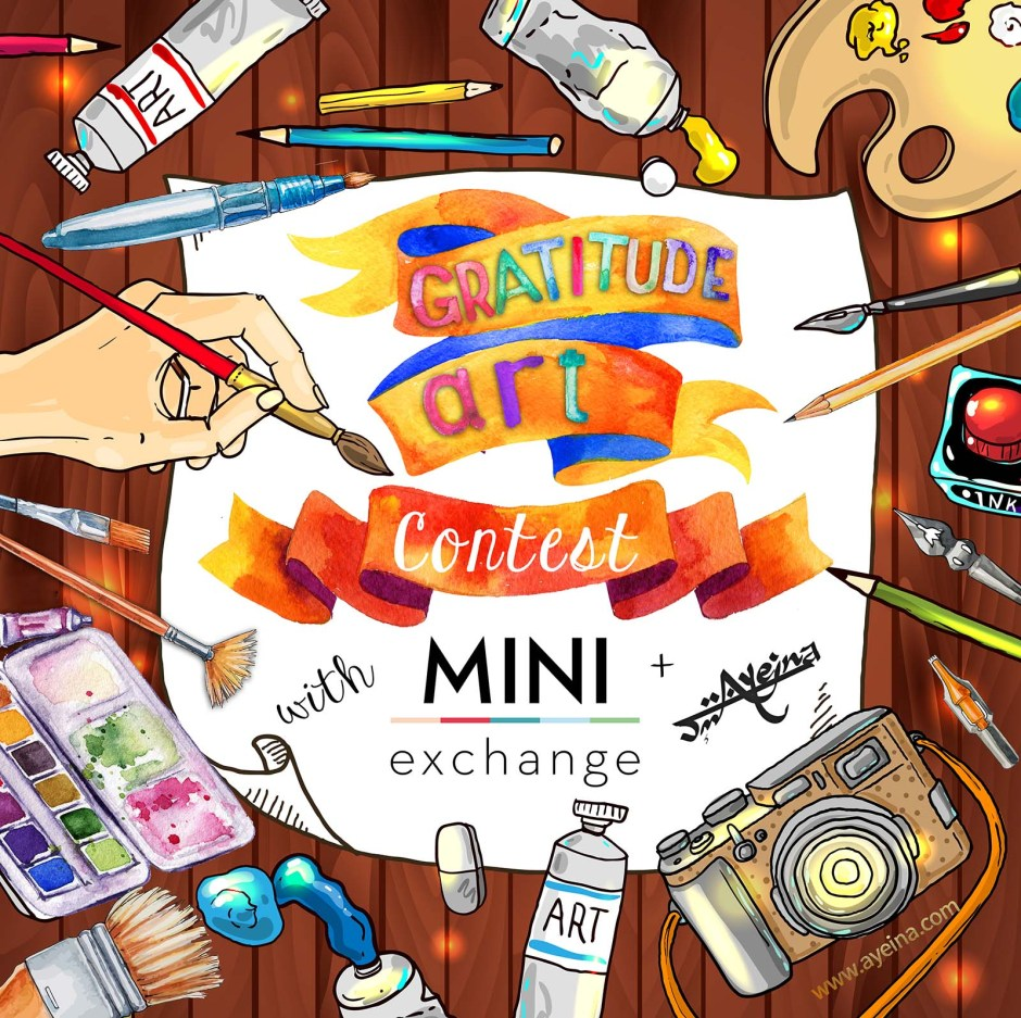 Gratitude Art Contest (in partnership with MiniExchange) – CLOSED