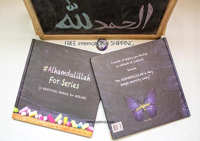 front and backside of the book, teach muslim kids about gratitude, teach gratefulness, raising muslim kids, ayeina_official
