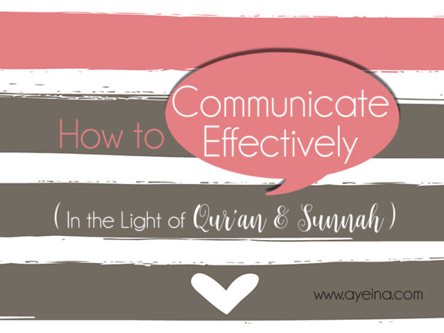 effective communication in islam