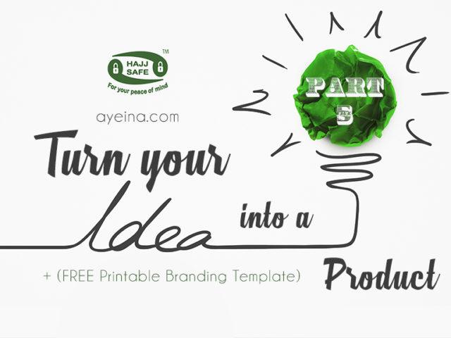 ayeina, hajj products, umrah, muslim business, muslim entrepreneur