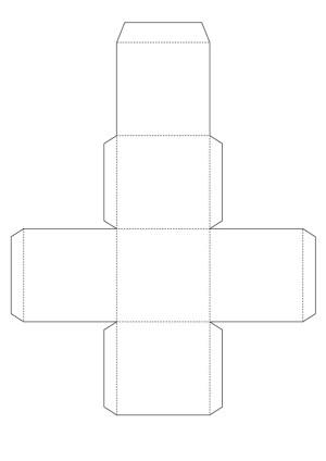 free printable gift box templates to color
