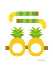 Printable fruit glasses - file 2