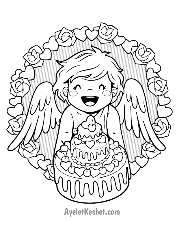 - Free Printable Valentine's Day Coloring Pages - Ayelet Keshet