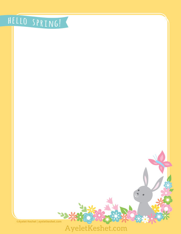 This is an image of Free Printable Stationery Template within elegant