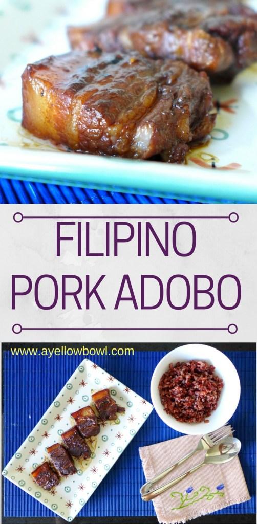 Basic Filipino Pork Adobo