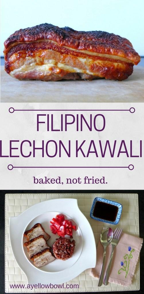 Oven Roasted Filipino Lechon Kawali