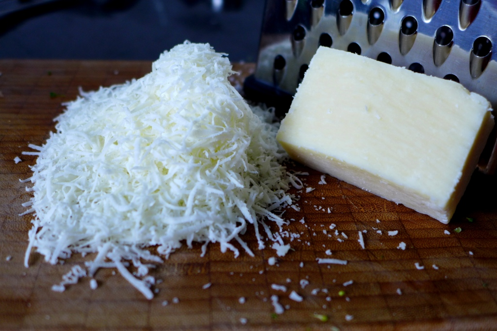 freshly grated cheese