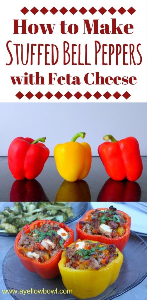 How to Make Beef & Feta Stuffed Peppers
