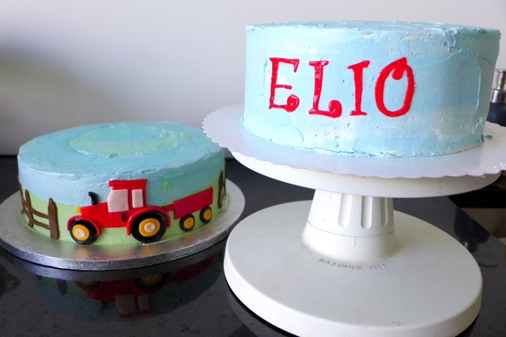 tractor cake tier 1 and 2