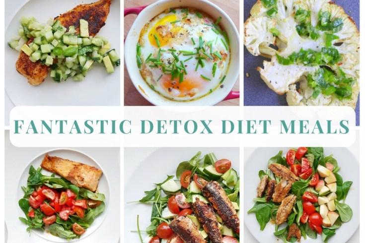 detox diet meals