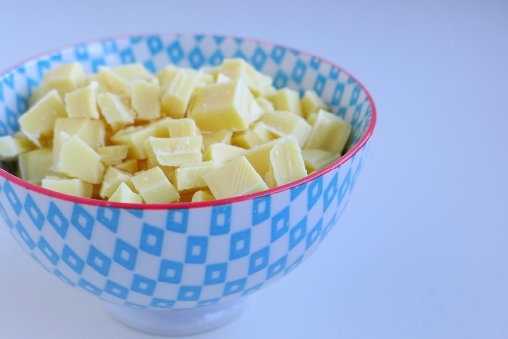 Matcha White Chocolate Chip Cookies Recipe - white chocolate chunks