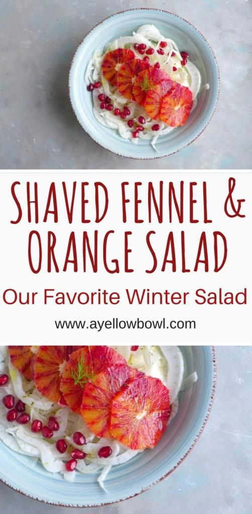 Shaved Fennel and Orange Salad Recipe