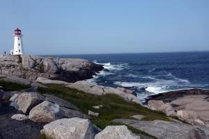 Nova Scotia ocean scenery at Peggy's cove