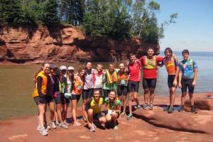 Voyageurs enjoy dynamic waterfront