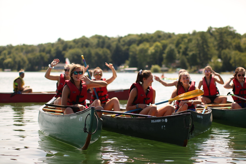 Trailblazer, girls, miniwanca, girls camp, boys camp, adventure